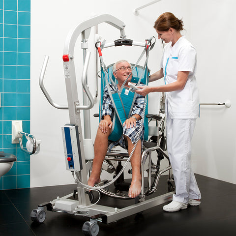 Handicare: Eva Floor LiftsHandicare: Eva Floor Lifts 450EE - 60100002 - Functional View