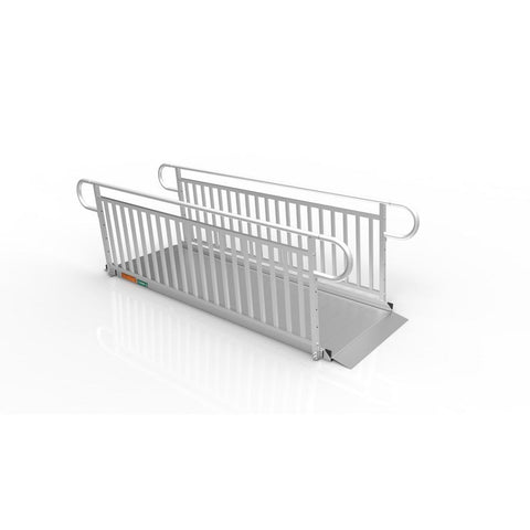 Ez-access: GATEWAY 3G Ramp with Vertical Picket Handrails