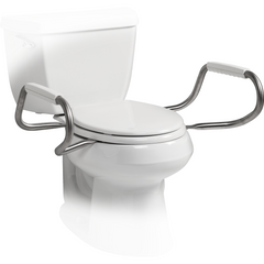 Bemis Independence: Hinged Toilet Seat With Support Arms