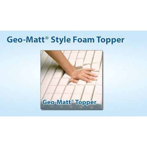 Span-America: Geo-Mattress® with Wings® - W7535-29 - Top View