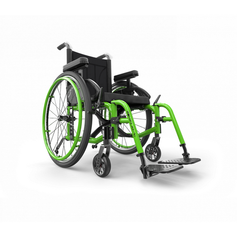 Motion Composites: Folding Wheelchairs Helio - A6 - Acid Green Color