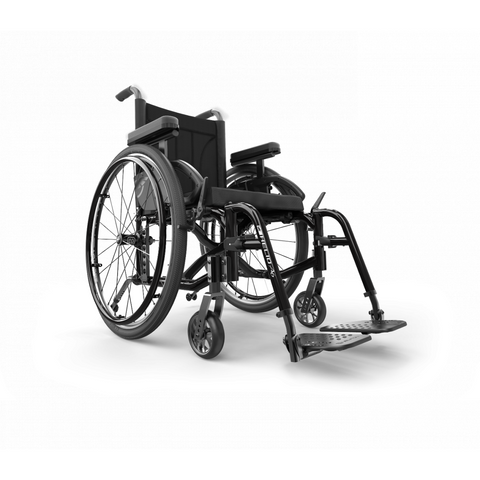 Motion Composites: Folding Wheelchairs Helio - A6 - Black Color
