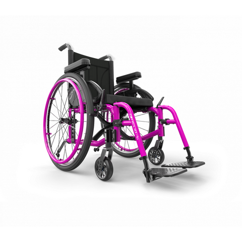 Motion Composites: Folding Wheelchairs Helio - A6 - Fuchsia Color