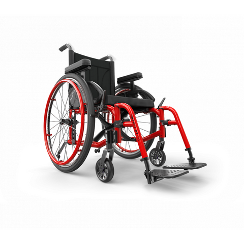 Motion Composites: Folding Wheelchairs Helio - A6 - Ferrari Red Color