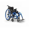 Image of Motion Composites: Folding Wheelchairs Helio - A6 - Sapphire Blue Color
