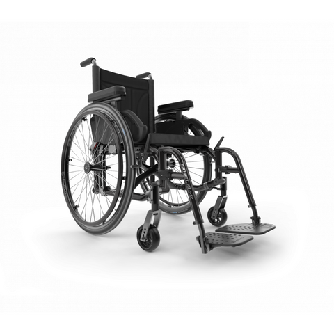 Motion Composites: Folding Wheelchairs Helio - A7 - Black Color