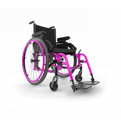 Motion Composites: Folding Wheelchairs Helio - A7 - Fuchsia