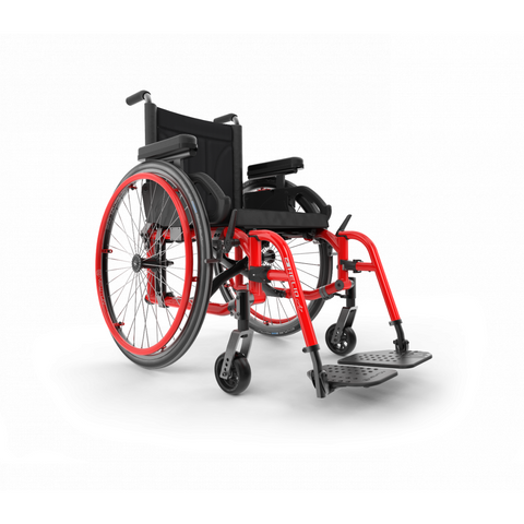 Motion Composites: Folding Wheelchairs Helio - A7 - Red Ferrari Color