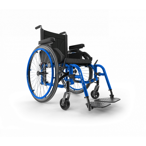 Motion Composites: Folding Wheelchairs Helio - A7 - Sapphire Blue