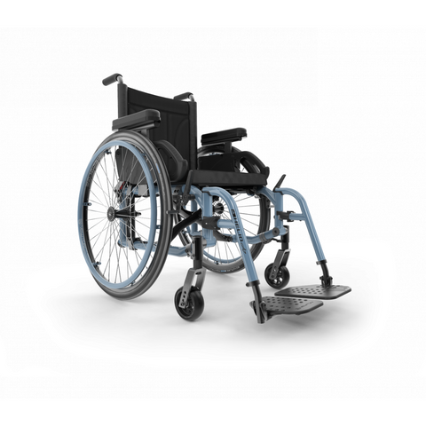 Motion Composites: Folding Wheelchairs Helio - A7 - Steel Blue
