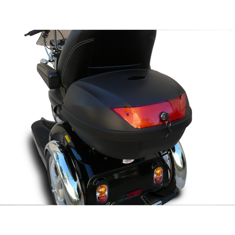 EV Rider:  Extra-Large Rear Locking Storage Box