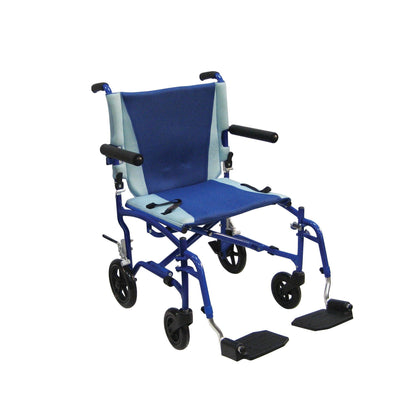 TranSport Aluminum Transport Wheelchair - TS19