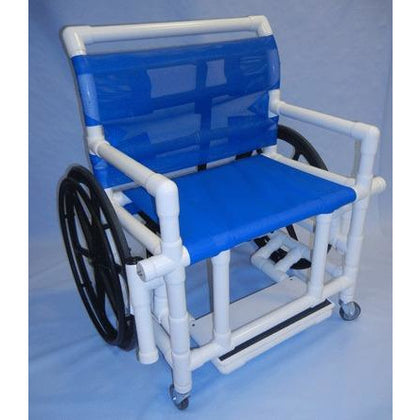 Healthline Medical: Shower Wheelchair - 400 lb Capacity - SWC-400 - Actual Image