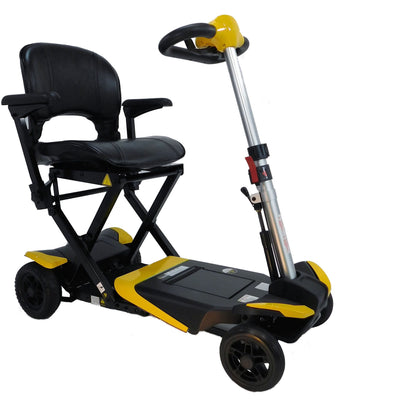 Enhance Mobility: Transformer Scooter (Automatic Folding Scooter) - S3021 - Yellow Color