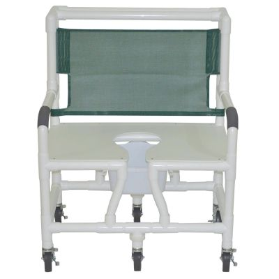 "Graham Field: Lumex 30"" Bariatric Commode Bath Chair - 89350"