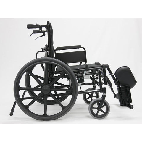 Karman Healthcare:  KM-5000 Self Propel TILT Wheelchair  – KM5000F side view