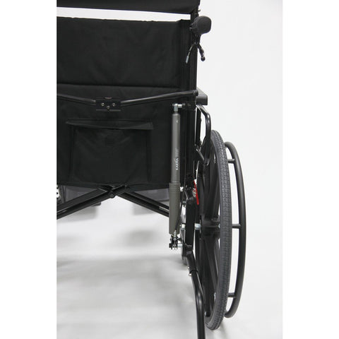 Karman Healthcare:  KM-5000 Self Propel TILT Wheelchair  – KM5000F wheels