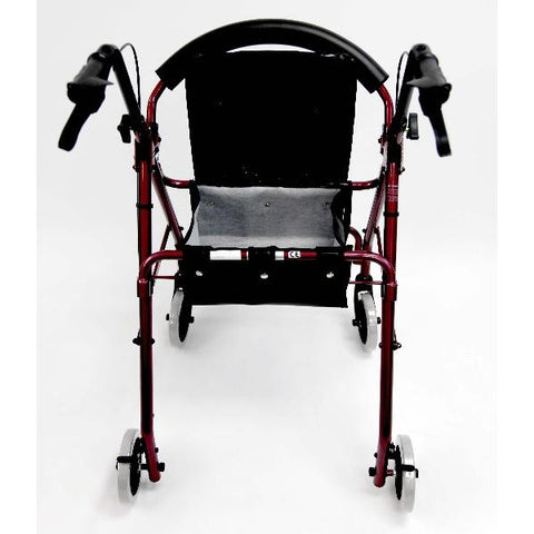 Karman Healthcare: Walker Rollator - R-4600 back image