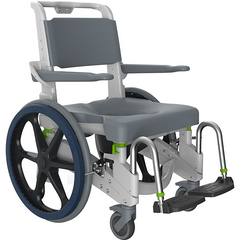 Raz Designs: Composite Mobile Shower Commode Chairs Jaz-SP - J202