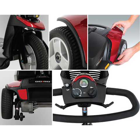 Pride Mobility: Go-Go Elite Traveller 3-Wheel