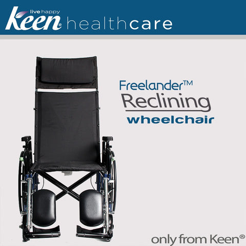 Keen Healthcare: Keen® Freelander™ 2.0 Reclining Wheelchair - FRD2-R - Front View