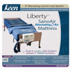 "Image of Keen Healthcare: Keen Liberty SanoAir True Low Air Loss Alternating Air Mattress with 4"" Raised Foam Bolsters - LSAN-35x80 4-BOLSTER"