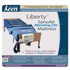 Image of Keen Healthcare: Keen Liberty SanoAir True Low Air Loss Alternating Air Mattress with Side Air Bolsters - LSAN-35x80 - Front View