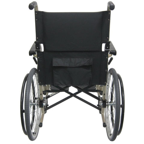 Karman Healthcare : Super  Compact Lightweight Wheelchair  – KM-9020L back view