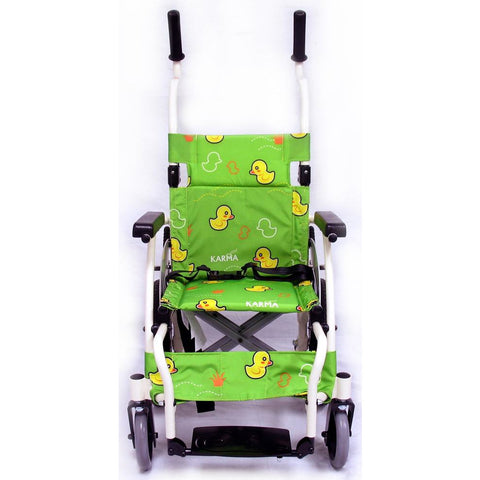 Karman Healthcare:  Pediatric Wheelchair - KM-7501-TP front angle