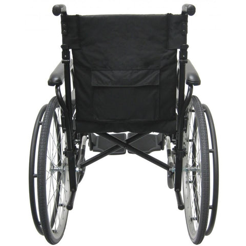 Karman Healthcare : Lightweight Wheelchair  – KM-802F back view