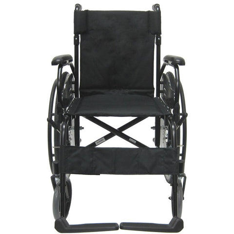 Karman Healthcare : Lightweight Wheelchair  – KM-802F  front view