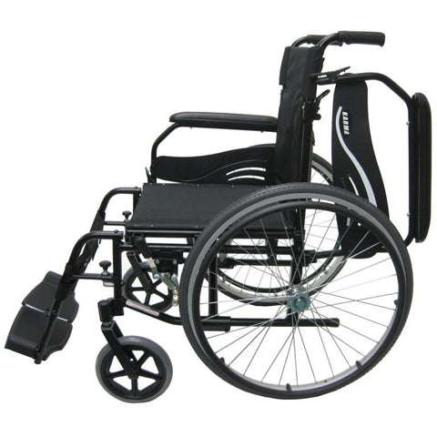 Karman Healthcare : Lightweight Wheelchair  – KM-802F  side view