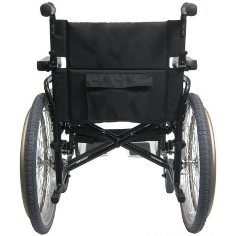 Karman Healthcare: Lightest Weight Bariatric Wheelchairs – KM-8520-22W back side