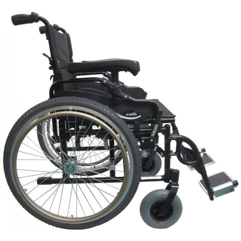 Karman Healthcare: KM-8520 20″ Seat Bariatric Wheelchairs – KM-8520W side view