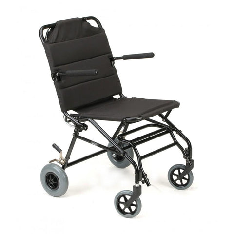 Karman Healthcare :Transport Wheelchairs – KM-TV10B FRONT SIDE