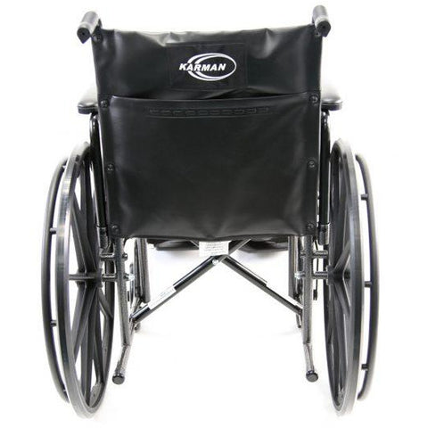 Karman Healthcare: Standard Wheelchair  – KN-700T back image