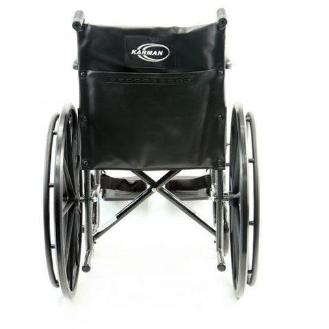 Karman Healthcare:  Standard Wheelchair  – KN-800T back image