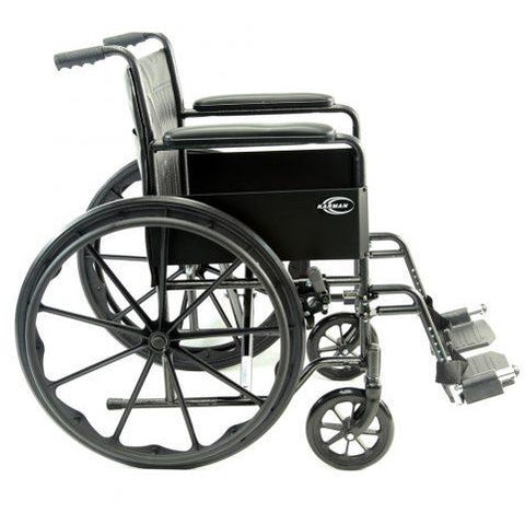Karman Healthcare:  Standard Wheelchair  – KN-800T side view