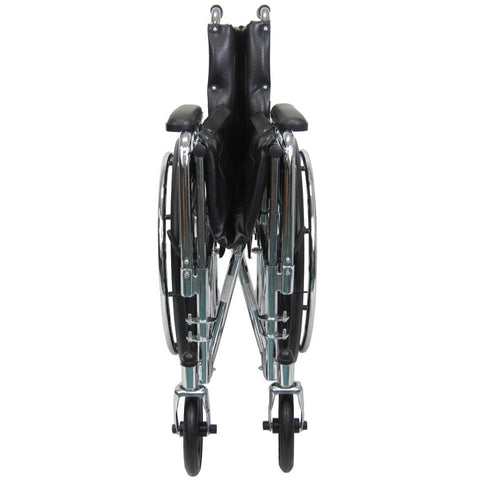 Karman Healthcare:  KN-880 Series TILT Wheelchair  – KN-880 folded