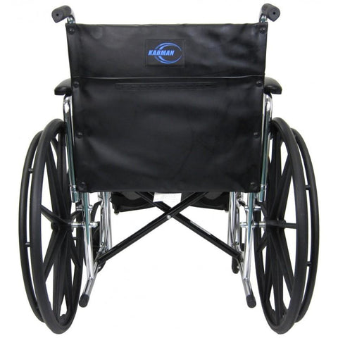 Karman Healthcare:  Bariatric Wheelchairs – KN-920W  back view