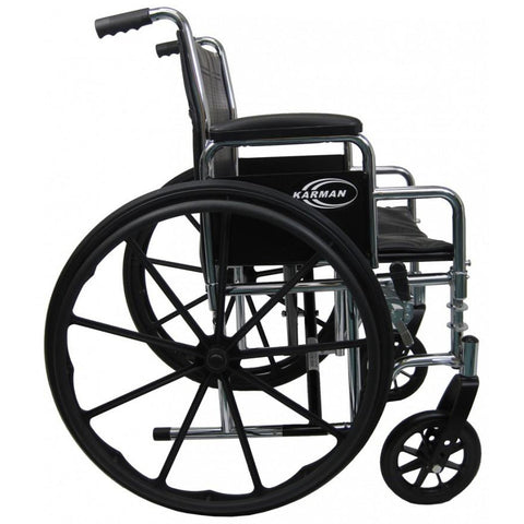 Karman Healthcare:  Bariatric Wheelchairs – KN-920W  wheel rotate