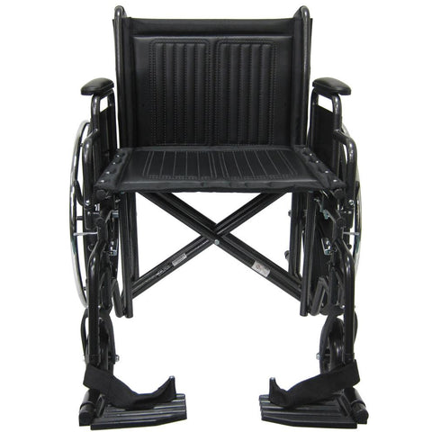 Karman Healthcare: KN-924-26-28W Bariatric Wheelchairs  – KN-924W front view