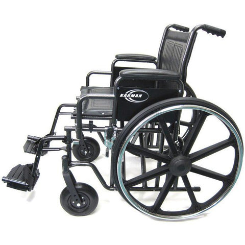 Karman Healthcare:  Bariatric Wheelchairs – KN-922W side view