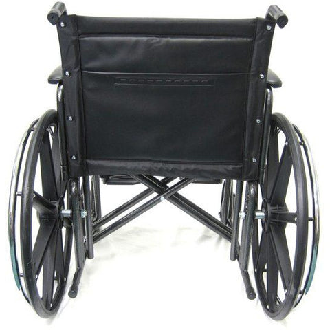 Karman Healthcare:  Bariatric Wheelchairs – KN-922W back side