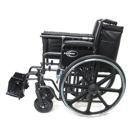 Karman Healthcare:  Bariatric Wheelchairs – KN-922W side folded