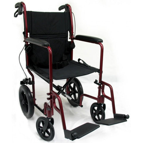 Karman Healthcare: Transport Wheelchairs – LT-1000 Front view