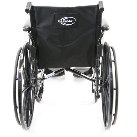Karman Healthcare : Standard Lightweight Wheelchair  – LT-700T back view