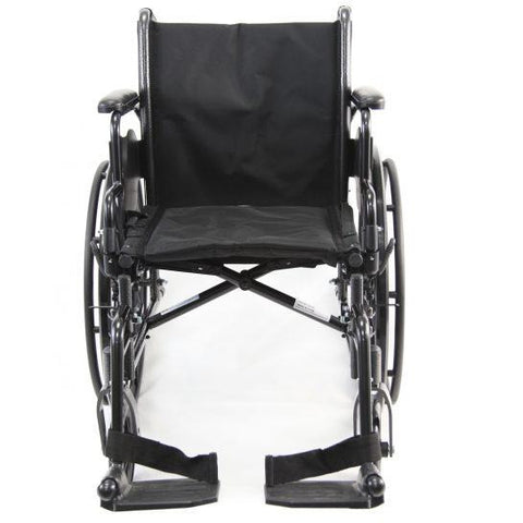 Karman Healthcare : Standard Lightweight Wheelchair  – LT-700T front view