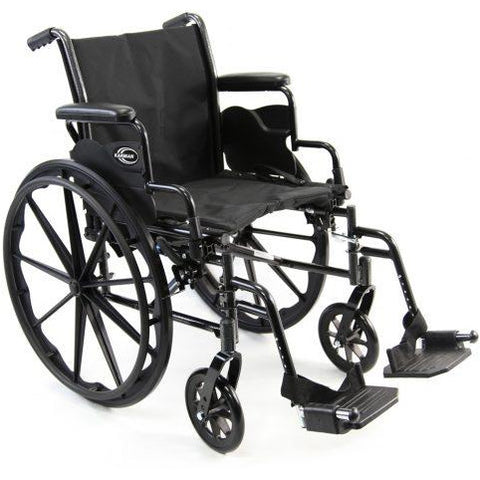 Karman Healthcare : Standard Lightweight Wheelchair  – LT-700T Main image