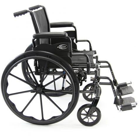Karman Healthcare : Standard Lightweight Wheelchair  – LT-700T side view
